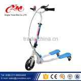 Wholesale Mini Micro kids kick scooter / foldable portable 3 wheel children scooter / PU wheels kids swing scooter
