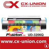Phaeton UD-3206Q digital board eco solvent printer printing machine with 6 spt510 35pl printheads