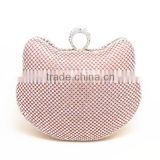 Blind Blind crystal rhinestone in animal shape clutch evening bags