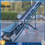 Mobile rubber grain belt conveyor for truck loading unloading made by Henan Joinrise