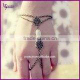 Factory Price Hand Chain Bracelet Slave Bracelets With Ring