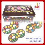 hot sale candy eyeglass with chocolate bean