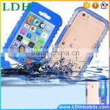 6S/Plus Waterproof Swim Diving Case Capa For Apple iphone 6 6S/6 6S Plus Heavy Duty Hybrid Crystal Full Protective PC+TPU Cover