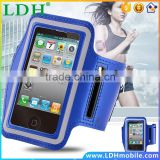 4S Workout Gym Running Arm Band Cover For Apple iphone 4 4SDurable Waterproof Sports Arm Holder Pounch Belt Case CellPhone Bag
