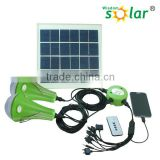 Hot sale automatic dusk to dawn bright led 12pcs solar home light small size with panel indoor emergency use