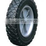 "Rubber wheels direct manufactures for wheelbarrows Pnuematic wheel, solid wheel,PU foam flat free wheel 6""-18"""