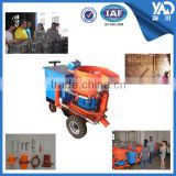 ISO supplier refractory dry mix concrete shotcrete machine