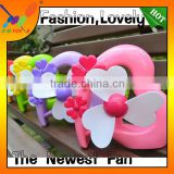 New Promotion Gift Fan,Valentine's Day Fan ,Heart-Shape Gift Fan.