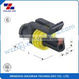 1 pin plastic waterproof black female connector 282085-1/DJ7011-1.5-21 for automotive application,housing application