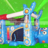 Waterproof PVC tarpaulin Inflatable Robot horse bouncer for kids