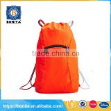 The new men's and women's sports draw string backpack waterproof sand bag mountaineering bag
