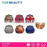 FG0209 fashion cute coin case shape lip gloss