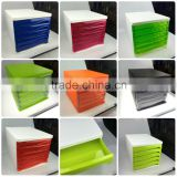 Bulk supply Business building office 5 drawers plastic storage cabinets