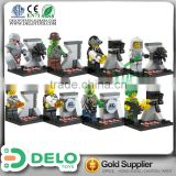 chinese trading company hobby shop plastic miniature human figure building blocks DE0084019