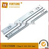 Guangzhou manufacturer full extension soft close undermount concealed drawer slide
