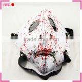 Antigas mask shaped masquerade masks bulk, with blood wholesale masquerade mask