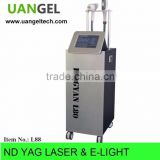 Pigmented Spot Removal E-light Ipl Rf Laser Ipl Rf Nd Yag Laser Hair Removal Machine Vascular Treatment