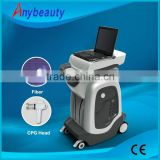 Vertical 1550nm erbium glass laser F8 for best wrinkle removal treatment