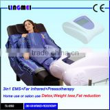 Pressotherapy Slimming lymphatic drainage body shaping suit / Air wave pressotherapy massage therapy