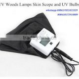 POPIPL UV black light skin detetor Woods lamp B601high precision skin detetor/skin scanner/skin scope scanner