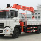 PERFECT truck-arm 6*2 series straight arm crane Engine B210 33 Rated load(Kg)12505