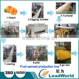 vegetable fruit canned food canning production line