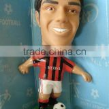 custom football player pvc bobblehead doll,World cup Star Promotional Bobblehead figure,Sports Star BobbleHead For Collection