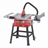 10 inch table saw with steel table adjustable extension table