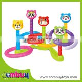 Newest product children outdoor toy plastic ring toss game