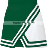 Womens Double-Knit Panel A-Line Cheerleading Uniform Skirt Custom Cheap Wholesale Cheerleading Uniforms