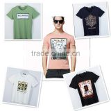 NEW Design Casual Slub BAMBOO Cotton t shirt Men offset 3D printing O-neck special cool Top Tees