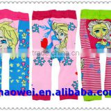 100% cotton children tights, kids printed tights,baby pantyhose