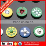 hi-ana button3 Top quality control garment accessories custom jeans rivets buttons