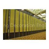 Vinyl Office Partitioning Walls , Gypsum Partition Wall For Banquet Hall Room
