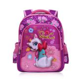 Beautiful Girls' school bag, teenager lightweighted backpack, large capacity shoulder bookbag