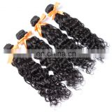 6A brazilian water wave human hair extension with different sizes