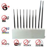 RF Signal Jamming 10 Antenna 3G 4G GPS Lojack Wifi 315Mhz 433Mhz All Signal Blocker Jamming Everything