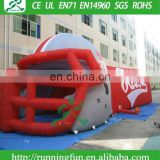 Inflatable football helmet, American Football Helmet Inflatable tunnel