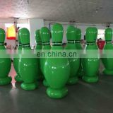 HI 0.6mm PVC giant inflatable human bowling pins,inflatable bowling set with cheap price