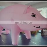 China Supplier Cheap Price Inflatable Pink Pig Advertising Promotional Giant Pig For Sale