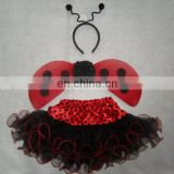 XGT11314 Child Ladybug Tutu Costume