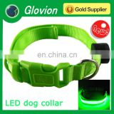 Electronic dog collar glovion reflective dog collar glow in the dark dog collar