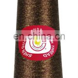 Quality black metallic yarn for embroidery