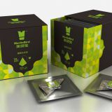 Wholesale Peach Oolong Tea of High Quality Black Box Package