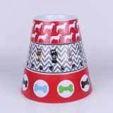Wholesale Pet Products Supplies Melamine Cat Dog Bowl with Pretty-Printings