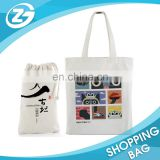Strong Popular Used Eco Natural Cotton Fabric Bags with Handles