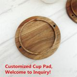 Customized Solid Wood Cup Tray For Hotel