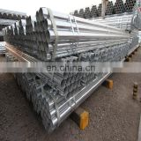 ASTM A53 A106 GR B round gi pipe galvanized steel tubing end cap erw hollow section price per ton