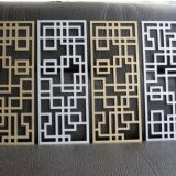 Quality Individual Style Signs Carved Perforated Aluminium