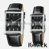 OEM Brand Quartz Business Wrist Alloy Promotion Watches With Leather Strap